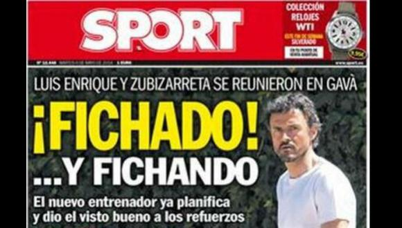 Luis Enrique es nuevo técnico del Barcelona, aseguran en España
