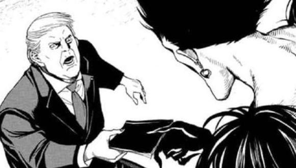 El presidente de Estados Unidos aparece en el nuevo manga de Death Note. (Foto: Twitter @Furries_R_ppl_2)