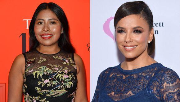 Yalitza Aparicio y Eva Longoria figuran entre los 819 artistas invitados este año por la Academia de Hollywood para unirse a la institución que organiza los Oscar. (Foto: AFP).