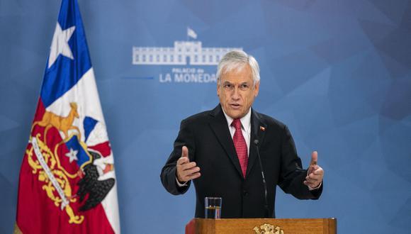 Imagen muestra al presidente de Chile, Sebastián Piñera. (Presidencia de Chile / AFP).