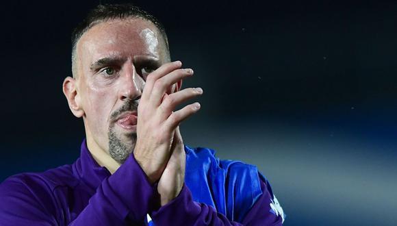 Franck Ribéry, futbolista francés de 36 años. (Foto: AFP)