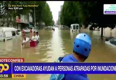 China: continúan los trabajos de rescate tras las inundaciones