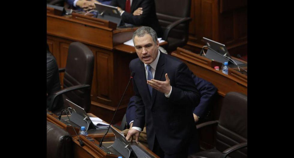 Salvador del Solar tuvo que renunciar al gabinete ministerial tras la disolución del Congreso el 30 de setiembre pasado. (Fuente: Anthony Niño de Guzmán   GEC)