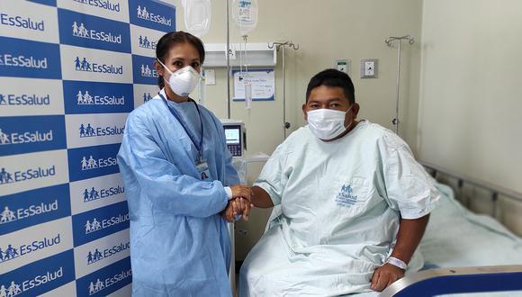 Arequipa: Médicos logran trasplantar riñón con éxito para un agricultor que espero donante por dos años (Foto: EsSalud)