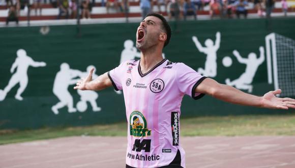 Sebastián Penco anotó 14 goles en el 2020 con el Sport Boys   Foto: GEC