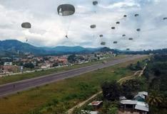 Junín: suboficial FAP resulta herido durante entrenamiento de paracaidismo