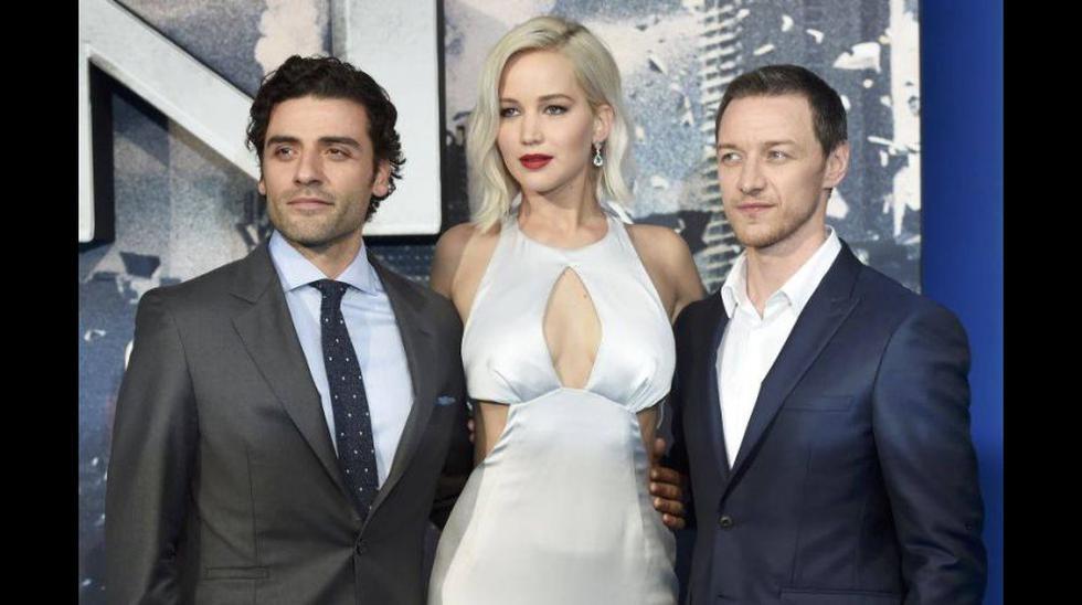 Jenniffer Lawrence luce sensual en 'red carpet' de X-Men - 2