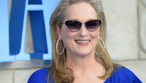 "Meryl Streep formará parte de ""Take Me To The World: A Sondheim 90th Birthday Celebration"". (Foto: AFP)"