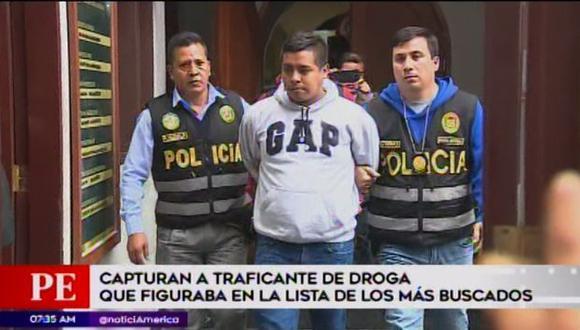 Capturan a traficante de drogas.