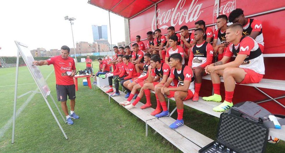 Selección peruana Sub 20 partió a Chile para disputar el Sudamericano. (Foto: Twitter Selección peruana)