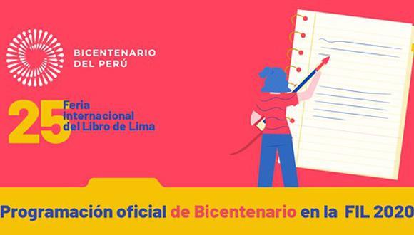 Proyecto Especial Bicentenario participará en la FIL Lima 2020. (Foto: Proyecto Especial Bicentenario)
