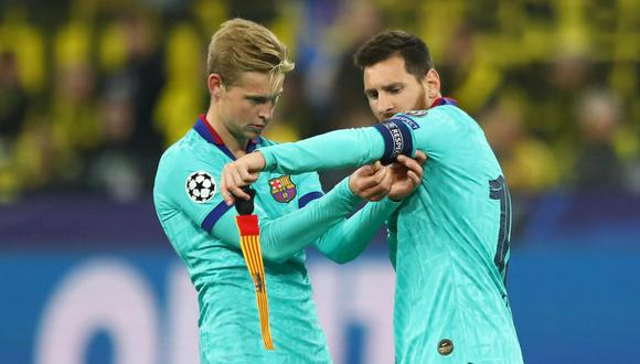 Lionel Messi no ha entrenado con el FC Barcelona. (Foto: AFP)