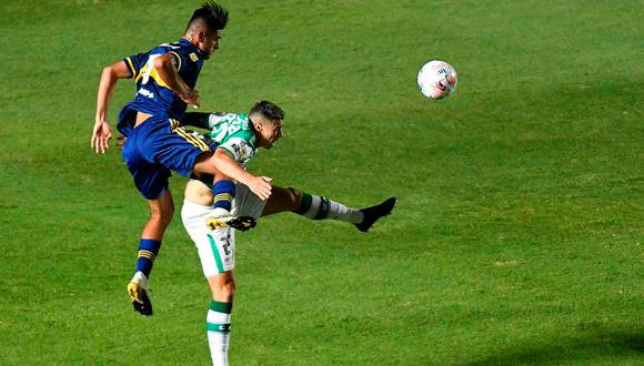 Carlos Zambrano suma dos títulos desde su llegada a Boca Juniors. (Foto: AFP)