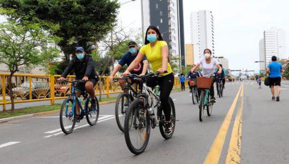 Este 22 de septiembre se celebra el Día Mundial sin Auto, y el MTC busca fomentar el uso de la bicicleta. (Foto: Andina)