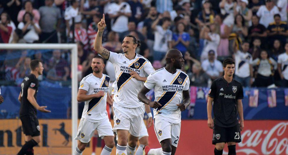 Con la efectividad de siempre, Zlatan Ibrahimovic fue protagonista de un nuevo triunfo de Los Ángeles Galaxy ante Philadelphia Union por la Major League Soccer. (Foto: Reuters)