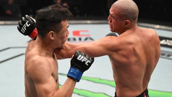 Brian Ortega derrotó a Chan Sung Jung en el UFC Fight Island 6| Foto: UFC
