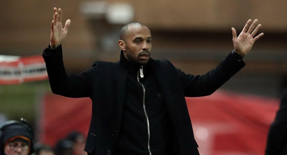 Thierry Henry llegó a Mónaco para reemplazar a Leonardo Jardim. (Foto: AFP)