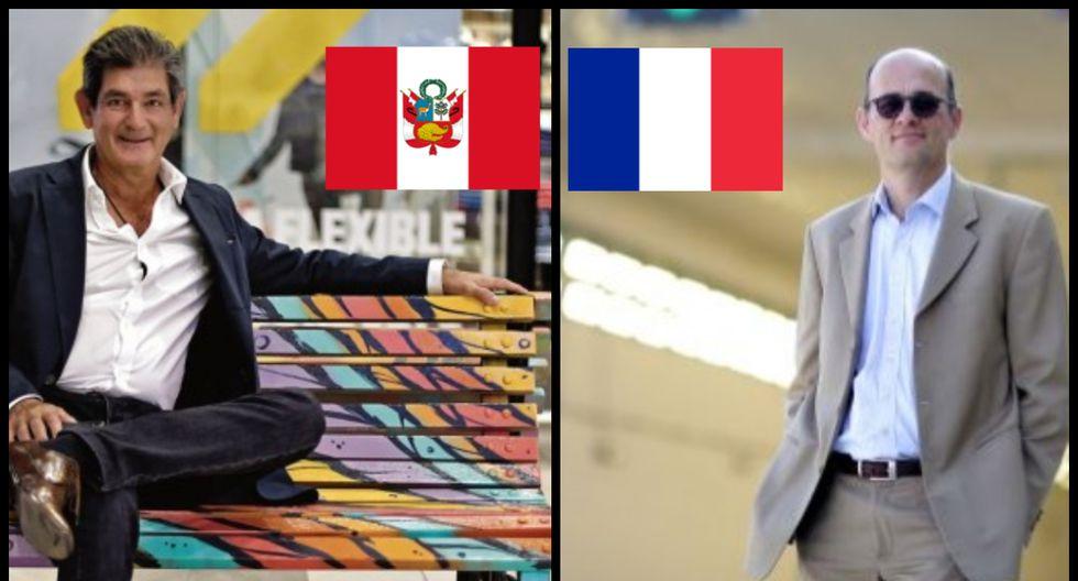A la izquierda Juan José Calle, gerente general del Jockey Plaza. A la derecha Laurent Cavrois, gerente general de Lamsac.