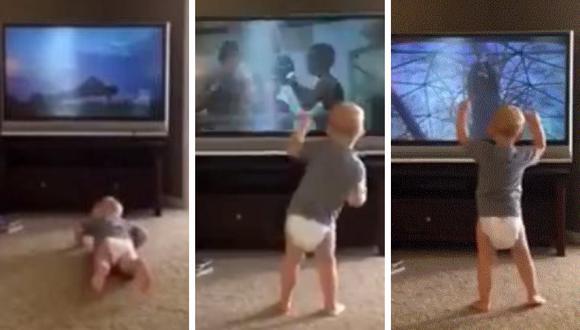 Un pequeño y su entrenamiento como 'Rocky Balboa' causa furor en las redes sociales. (Foto: Zack Magilavy en Facebook)