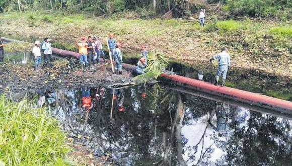 Loreto: aún no determinan impacto de 5ta fuga de crudo del año