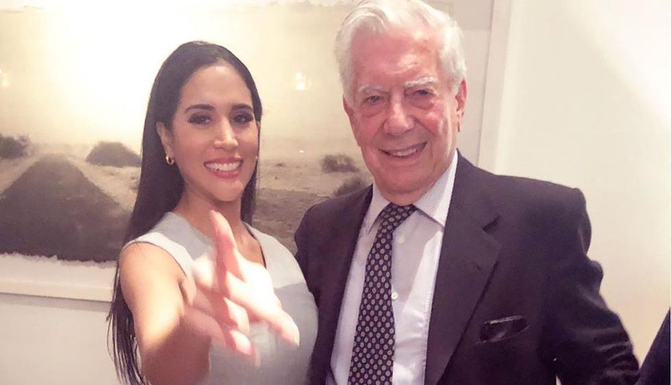 """Mario Vargas Llosa asistió a función de la obra """"Pantaleón y las visitadoras"""" y esta fue su reacción. (Foto: Instagram)"""