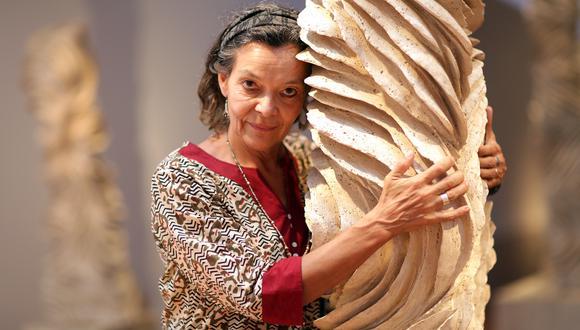 Silvia Westphalen, la reconocida escultora participa en el proyecto De Voz a Voz Perú con un dibujo realizado durante la cuarentena. Foto: Nancy Chappell