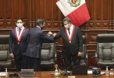 Vacancia presidencial: Martín Vizcarra se defendió ante el pleno junto a su abogado | FOTOS