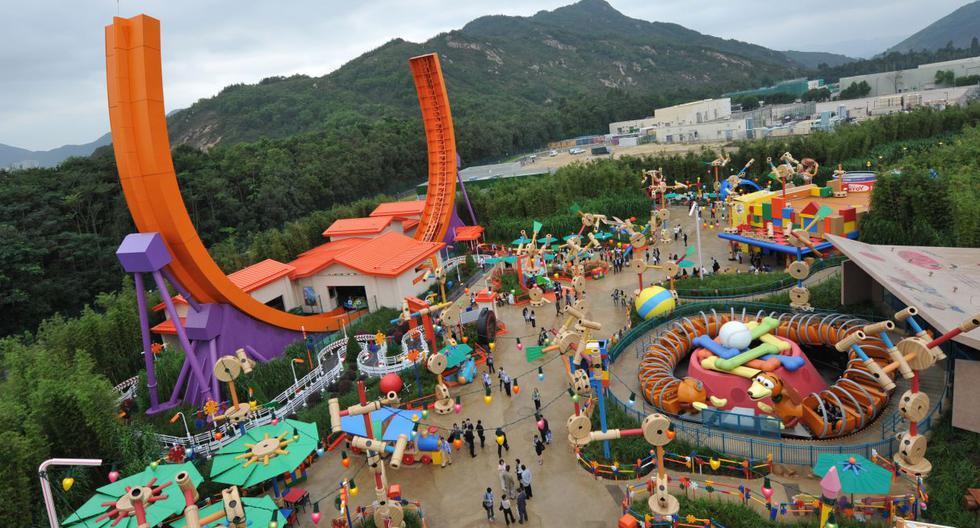 Disneyland de Hong Kong anunció que cerrará el domingo y hasta nueva orden debido al coronavirus. (Foto: AFP)