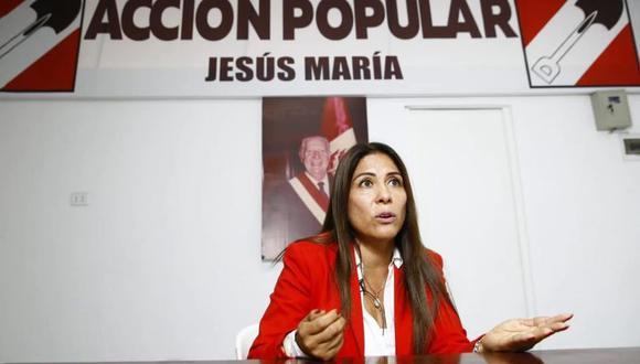 La congresista electa Mónica Saavedra asegura que el alcalde de Jesús María no promovió su candidatura. (Foto: GEC)