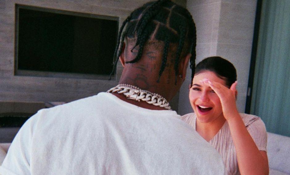 Kylie Jenner: Travis Scott sorprende a su novia con lujoso reloj de diamantes (Foto: Instagram)