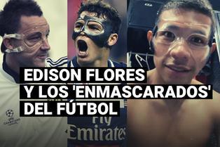 Edison Flores no es el único, conoce a los otros 'enmascarados' del fútbol