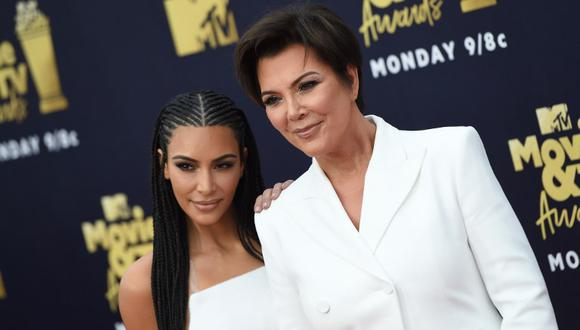 Kris Jenner revela la razón detrás del nombre del cuarto hijo de Kim Kardashian (Foto: AFP)