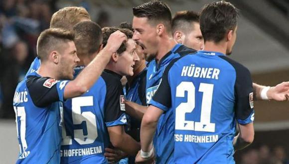 Hoffenheim venció por primera vez en su historia al Bayern