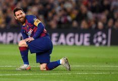 Messi y su horrible disparo de zurda en el Barcelona vs. Slavia Praga que terminó en las gradas del Camp Nou [VIDEO]