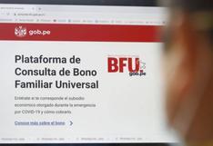Segundo Bono Universal: ¿Cómo cobrar los 760 soles HOY lunes 26 de octubre? AQUÍ el LINK de plataforma BFU
