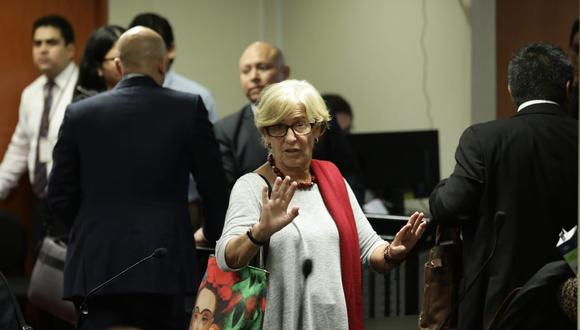 Susana Villarán esinvestigada por el fiscal Carlos Puma, del equipo especial, por los delitos como lavado de activos, cohecho, negociación incompatible, entre otros. (Foto: Alessandro Currarino / GEC)