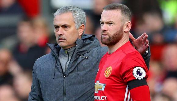 """Wayne Rooney también se refirió a la salida de Jose Mourinho del Manchester United. """"Para tener éxito en el fútbol, necesitas que todo sea correcto y que seas feliz"""", explicó. (Foto: AFP)"""