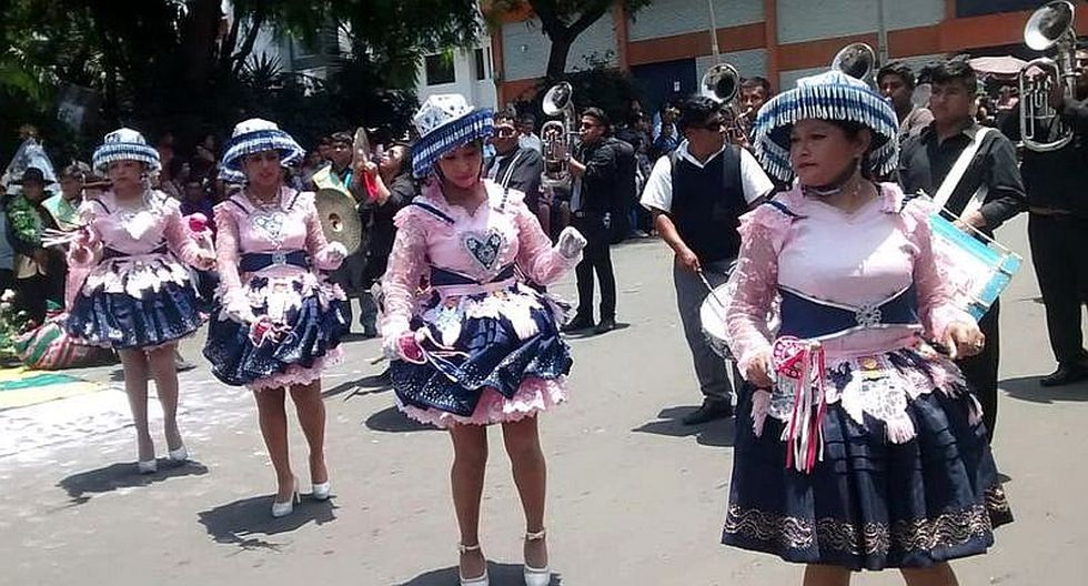 Con bailes celebran a Virgen de la Candelaria en Tacna