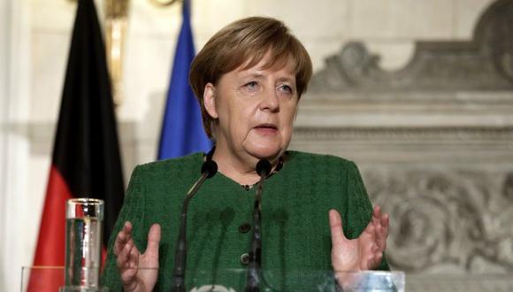 """""""La lección para nosotros es hacer cuanto podamos por tener buenas relaciones con Grecia y que nos apoyemos mutuamente por el bien de Grecia y de Alemania"""", señaló Angela Merkel."""