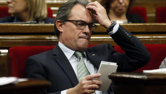 Cataluña: Artur Mas renunció a la consulta del 9 de noviembre