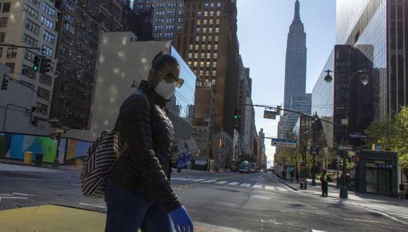 Coronavirus USA   Estados Unidos EN VIVO   Ultimas noticias   Último minuto: reporte de infectados y muertos hoy viernes 10 de abril del 2020. (Foto: AFP)