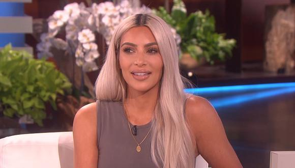 Kim Kardashian se mostró asombrada por la presencia de un animal por las calles de su hogar (Foto: ABC)