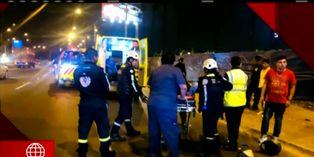 Surco: motociclista se encuentra grave tras ser arrollado por auto