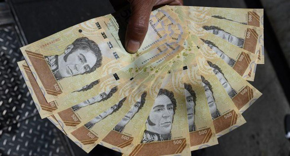 El precio del dólar operaba al alza este lunes en Venezuela según el DolarToday. (Foto: AFP)
