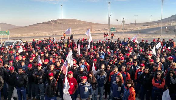 Chile: Huelga en mina Escondida sigue sin señales de solución