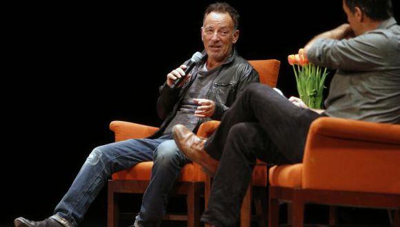 """Bruce Springsteen: """"La música me centró y espantó mi depresión"""""""
