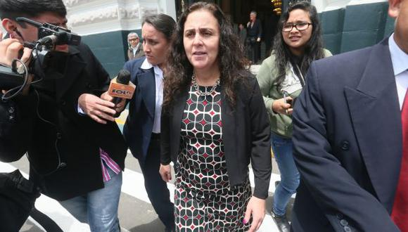 Bienvenido Ramírez propuso censurar a ministra Patricia García