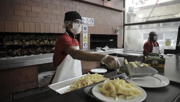 Según el Ministerio de la Producción, 170 mil restaurantes a nivel nacional operarán a través del servicio de delivery por terceros. (Foto: Joel Alonzo/GEC)