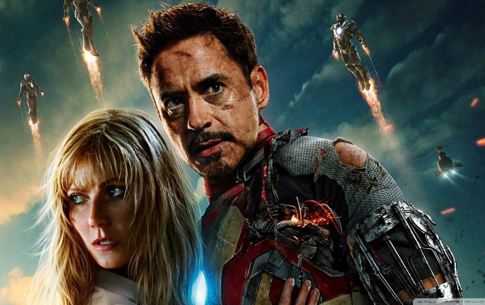 La actriz Gwyneth Paltrow publicó una fotografía junto a Robert Downey Jr. para despedirse del universo cinematográfico de Marvel. (Foto: Marvel)
