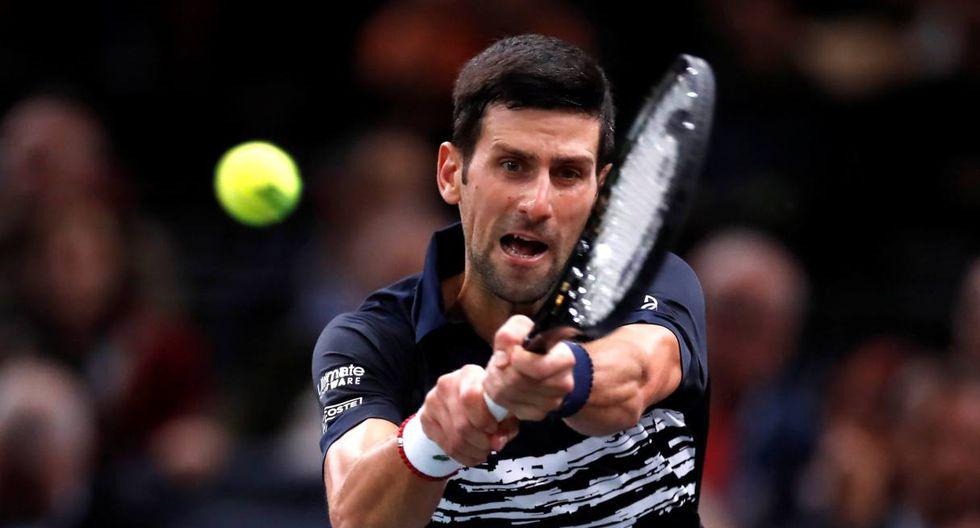 Djokovic vs. Dimitrov se enfrentan en el Masters 1000 de París. (Foto: Reuters)